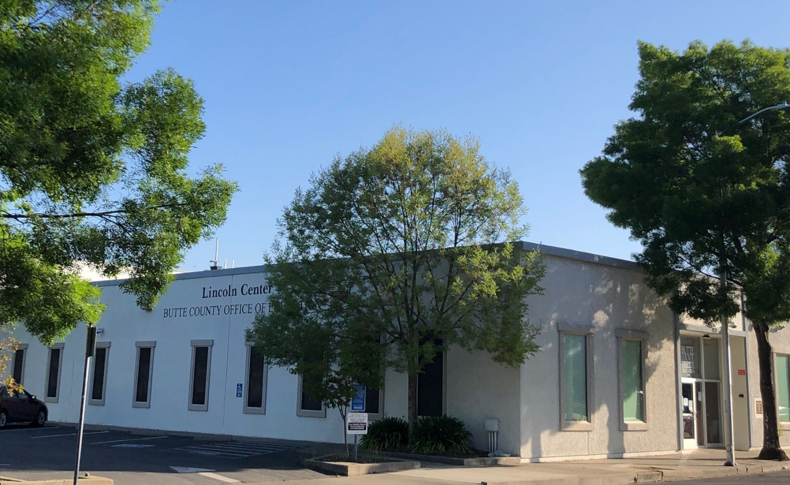 Our office at 1870 Bird Street in Oroville.